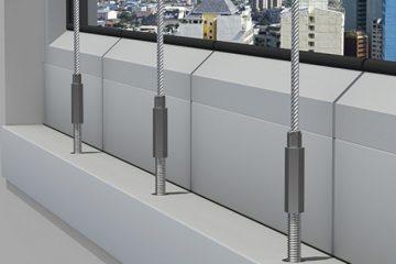 מיגון גגות, רשת פלדה מודולרית