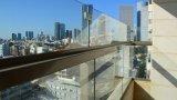 הגבהת מעקה מזכוכית רבודה למרפסת